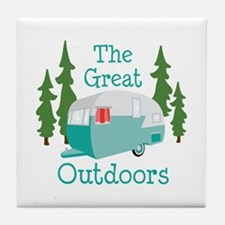 The Great Outdoors Tile Coaster