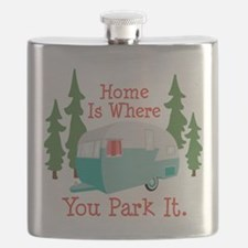 Home Is Where You Park It. Flask