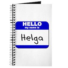 hello my name is helga Journal