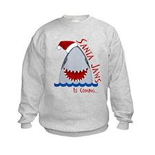 Santa Jaws Sweatshirt