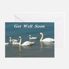 Swan Family Greeting Cards