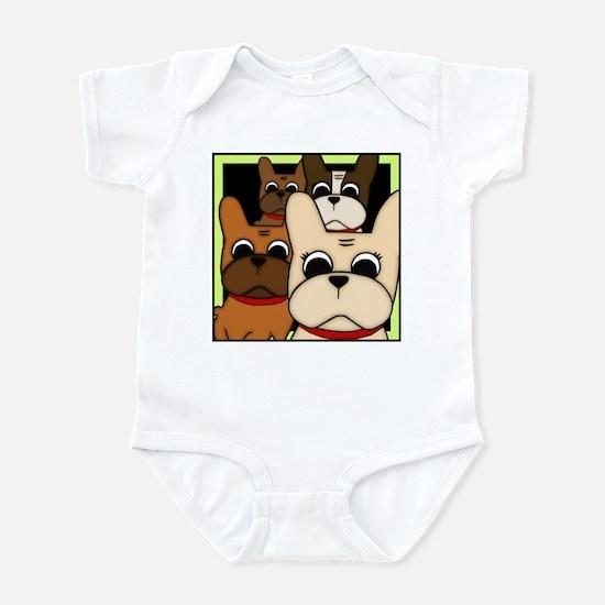 Frenchie Clan Infant Bodysuit