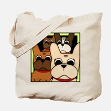 Frenchie Clan Tote Bag