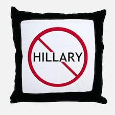 Close Hillary Throw Pillow