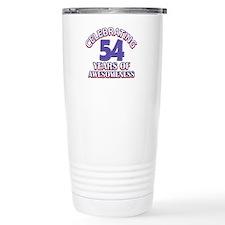Celebrating 54 years of awesomeness Travel Mug