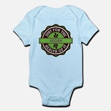 Vegan For the Health of It Infant Bodysuit