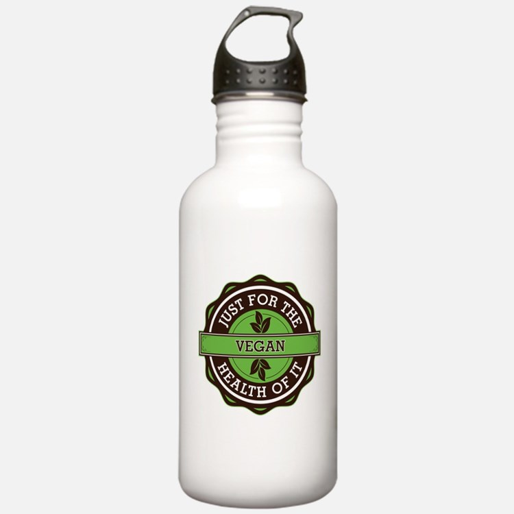 Vegan For the Health of It Water Bottle