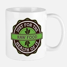 Raw Food For the Health of It Mug