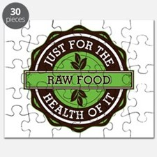Raw Food For the Health of It Puzzle