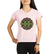 Vegetarian For the Health of It Performance Dry T-