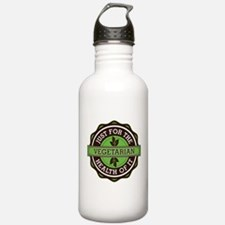 Vegetarian For the Health of It Water Bottle