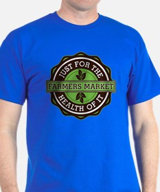 Farmers Market For the Health of It T-Shirt