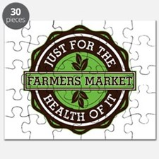 Farmers Market For the Health of It Puzzle