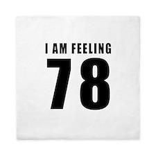 I am feeling 78 Queen Duvet