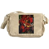 Fox art Messenger Bag
