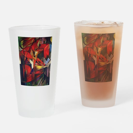 The Fox by Franz Marc Drinking Glass