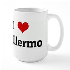 I Love Guillermo Mugs