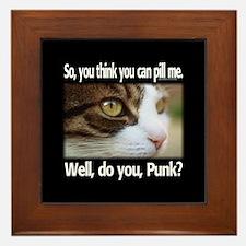 Pill Me, Punk Framed Tile