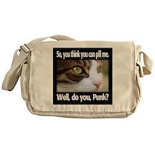 Pill Me, Punk Messenger Bag