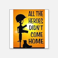 HEROES TRIBUTE Sticker