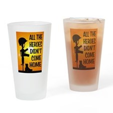 HEROES TRIBUTE Drinking Glass