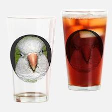 Quaker Portrait Drinking Glass