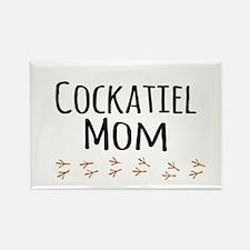 Cockatiel Mom Magnets