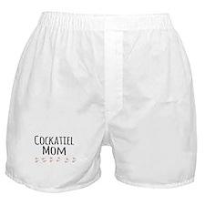 Cockatiel Mom Boxer Shorts