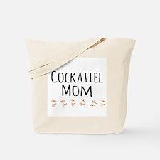 Cockatiel Mom Tote Bag