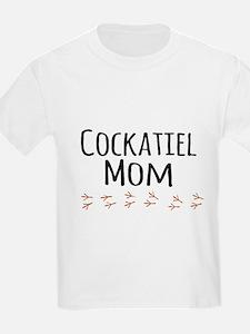 Cockatiel Mom T-Shirt