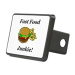 Fast Food Junkie Rectangular Hitch Cover