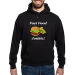 Fast Food Junkie Hoodie (dark)