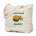 Fast Food Junkie Tote Bag