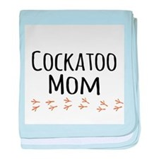Cockatoo Mom baby blanket