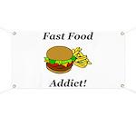 Fast Food Addict Banner