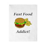 Fast Food Addict Twin Duvet