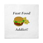 Fast Food Addict Queen Duvet