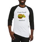 Fast Food Addict Baseball Jersey