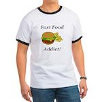Fast Food Addict Ringer T