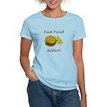 Fast Food Addict Women's Light T-Shirt