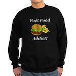 Fast Food Addict Sweatshirt (dark)