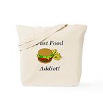 Fast Food Addict Tote Bag
