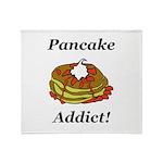 Pancake Addict Throw Blanket