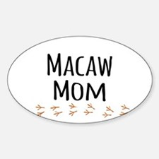 Macaw Mom Decal