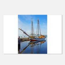 Tall Ship Larinda Postcards (Package of 8)