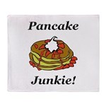 Pancake Junkie Throw Blanket