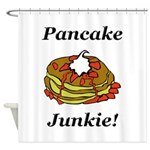 Pancake Junkie Shower Curtain