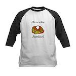 Pancake Junkie Kids Baseball Jersey