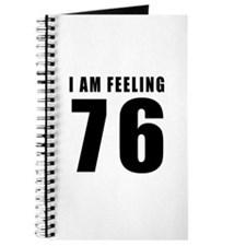 I am feeling 76 Journal