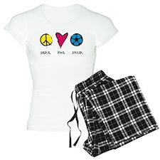 Peace. Love. Soccer. Pajamas